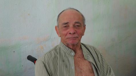 Morador do Loteamento São Francisco, Seu Manoel sofreu AVC antes de sua casa ser demolida
